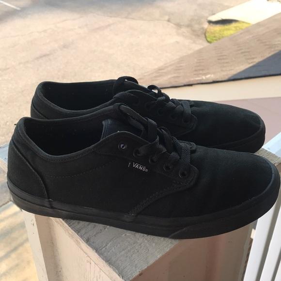 ea2f01518c79 Vans Authentic Core Classic Black Canvas Shoes